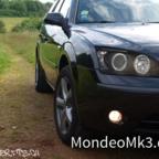 FAKE (!!) - Dectane Scheinwerfer black MK3