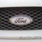 Weiss/schwarz ford embleme