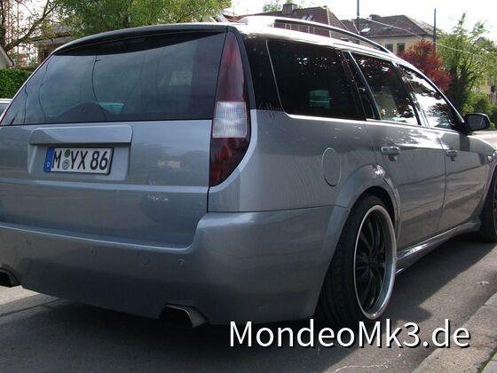 MK3 Kombi - cleane Heckleiste