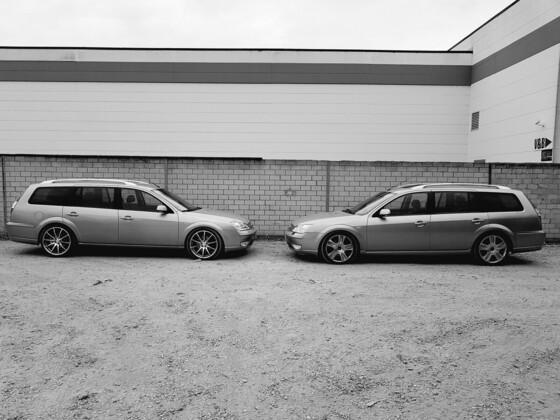 Links Mondi Kollege, rechts mein aktueller 2,2 Titanium