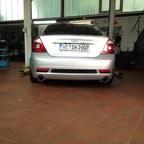 St220 Heck und Friedrich Motorsport Abgasanlage
