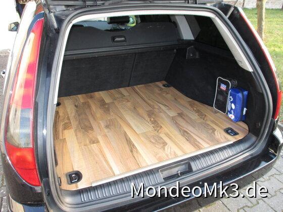 Kofferraum- Ausbau