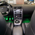 Lenkrad - Radio - LED - Schaltsack