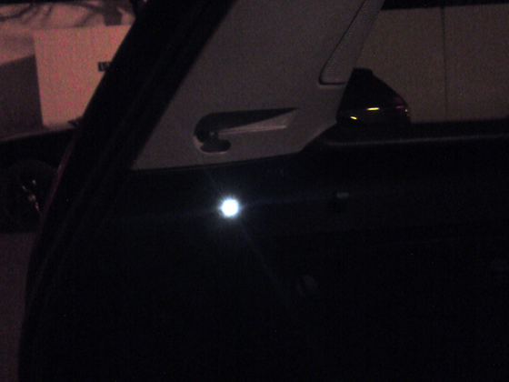 LEDs im Laderraum