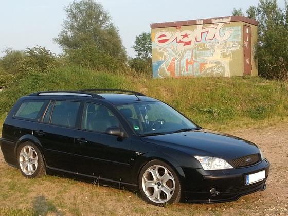 Hanno´s Mondeo V6 Frontansicht