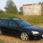 Hanno´s Mondeo V6 Frontansicht
