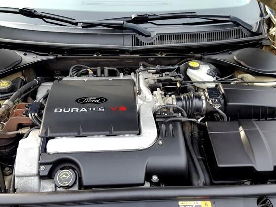 Mtorraum 2.5 V6