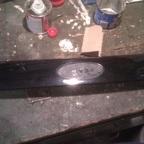 Umbau Griffleiste Kofferaum
