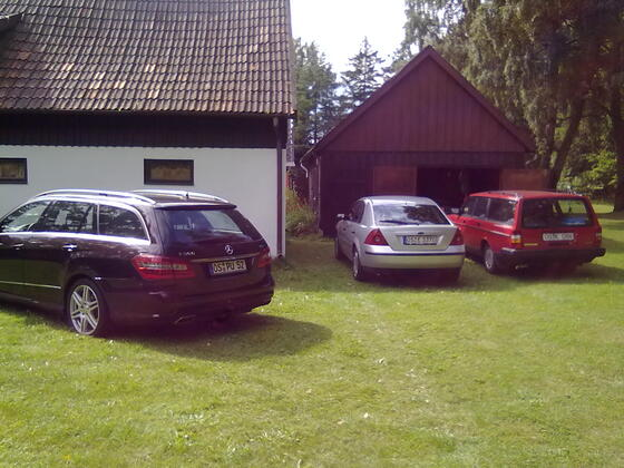 3 Autos mit jeweils 10 Jahren dazwischen :D