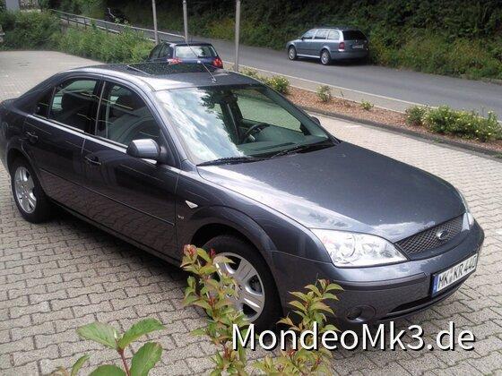 Mein Mondeo MK3 V6