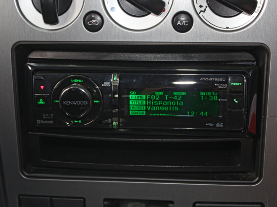 Mein neuses Radio (Kenwood KDC-BT92SD)
