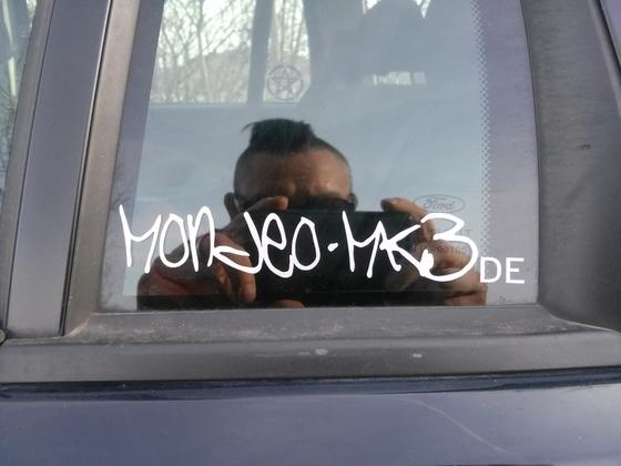 Aufkleber Mondeo MK3